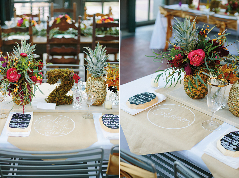 wedding-decor-with-pineapples