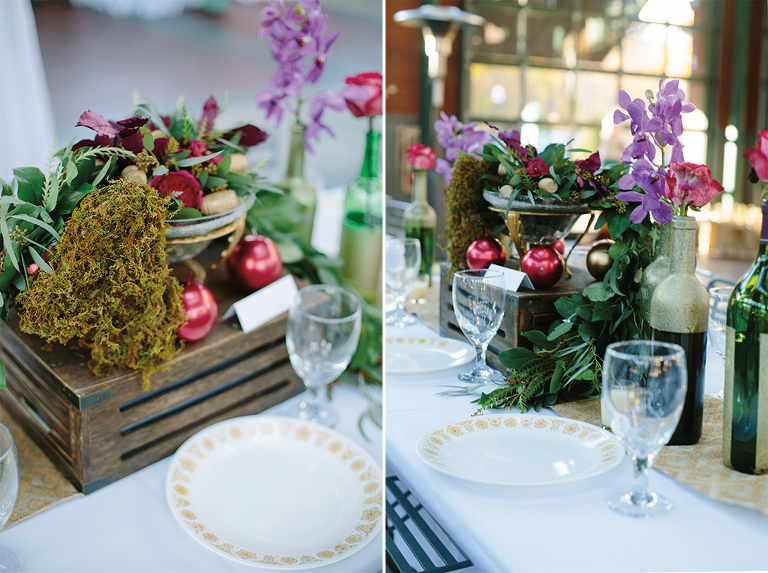 wedding-with-jewel-tones-and-vintage-pyrex