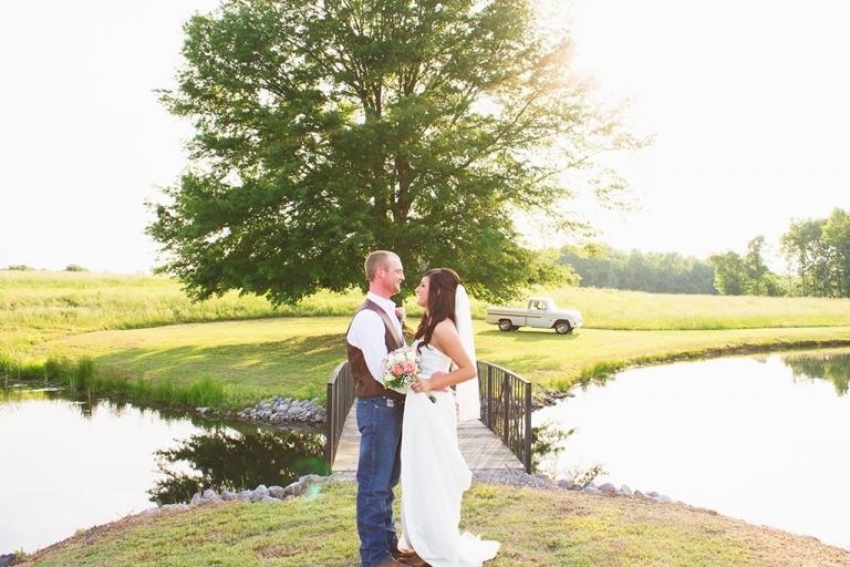 Kelli + Chris | A Handcrafted Alabama Wedding With Rustic